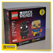Lego Brick Headz Black Panther & Dr. Strange 2016 SDCC