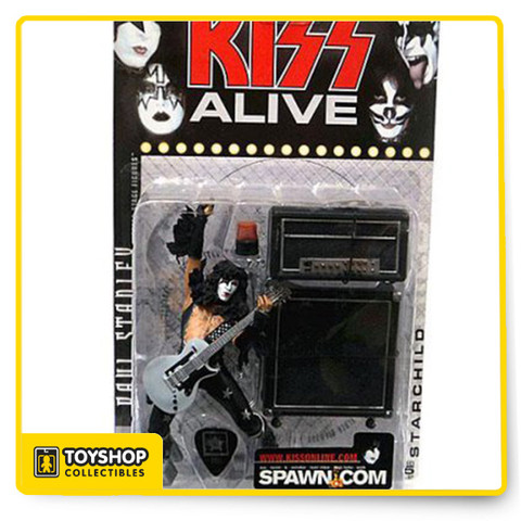 The Starchild - Super Stage figures - Includes Guitar, Light, Amps & Guitar Pick   Includes: Guitar, Light, Amps, Guitar Pick  Limited Edition