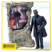 The Movie Maniacs series from McFarlane Toys brings your favorite monsters, freaks and villains to life! This Series 3 John Shaft figure stands over 6 inches tall and comes with an official Movie Maniacs display stand.  Based on the John Singleton remake of the classic '70s film, the 2000 version stars Samuel L. Jackson in the title role. The action figure looks serious and sinister in a long black trench coat.