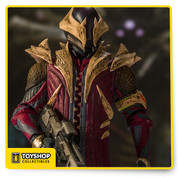 Warrior-scholars of the Light, Warlocks devote themselves to understanding the Traveler and its power. A Warlock's mind is an arsenal of deadly secrets, balanced between god-hood and madness. On the battlefield, those secrets can shatter reality itself. Highly detailed sculpt of the Warlock modeled from in-game assets Figure comes with the Touch of Malice scout rifle and Black Hammer sniper rifle Fully customizable figure with 14+ points of articulation for dynamic posing Figure comes in window boxed collector packaging and featured on a stylized Destiny branded display base