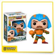The latest exclusive from Funko Pop is the Man at Arms (Masters of the Universe).