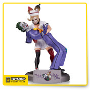 DC Bombshells The Joker and Harley Quinn Statue by Tim Miller
