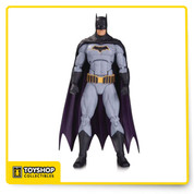 As seen in the DC Rebirth: Justice League of America Action Figure 7 Pack, the Dark Knight is back in a new solo action figure featuring his appearance in DC's smash-hit Rebirth titles!