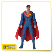 As seen in the DC Rebirth: Justice League of America Action Figure 7 Pack, the Man of Steel is back in a new solo action figure featuring his appearance in DC's smash-hit Rebirth titles!