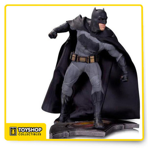 "DC Collectibles has just released three spectacular 12'' statues based on the film. Sculpted by the very talented James Marsano, get a glimpse at the amazing attention to detail of Ben Affleck's ""Batman"" statue in this exclusive turnaround video."