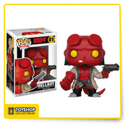 Hellboy (Hellboy) Funko Pop!  The Hellboy comic book series is joining the Funko family and receiving the Pop! vinyl treatment!