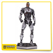 The World's Greatest Heroes unite on the big screen for the first time in the Warner Bros. feature film Justice League! Now, DC Collectibles captures the likenesses of Cyborg in this spectacular statue!   Limited Editions of 5,000