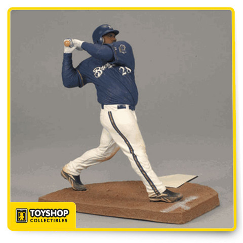 This is a Prince Fielder figure #28 from the Milwaukee Brewers