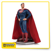 The World's Greatest Heroes unite on the big screen for the first time in the Warner Bros. feature film Justice League! Now, DC Collectibles captures the likenesses of Superman in this spectacular statue!   Limited Editions of 5,000