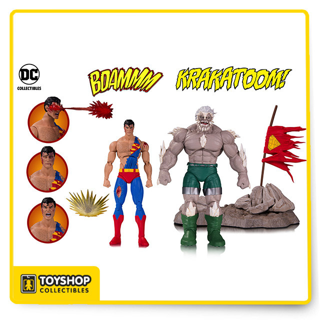 Dc Icons Superman Vs Doomsday 2 Pack Toy Shop Collectibles