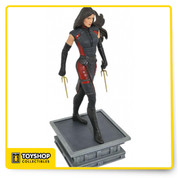 Based on her appearance in Daredevil Season 2 on Netflix, this PVC figure of Elodie Yung as Elektra stands atop a pedestal inspired by a New York City rooftop, uniting it thematically with the other Netflix releases. Measuring approximately 10 inches tall, this diorama features detailed sculpting, exacting paint applications, and an authentic likeness. Packaged in a full-color window box. Sculpted by Varner Studios!