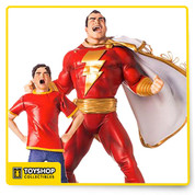 "The world's mightiest mortal, Shazam !! The ordinary orphaned boy Billy Batson was summoned to the Rock of Eternity by the Wizard, keeper of magic, in a search for the next champion of good on Earth. Initially dismissed, Billy argued for his candidacy and was granted the magic word ""Shazam"" which spoken with good intentions transformed the boy into the magical powerhouse of the same name. Imbued with the classic powers of speed, flight, super strength, and invincibility, Shazam is still finding his way in the world as a hero."