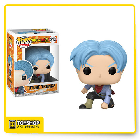 From the anime and manga series, Dragon Ball Z, comes this Dragon Ball Super Future Trunks Pop! Vinyl Figure #313! This figure measures about 3 3/4-inches tall and comes packaged in a window display box.