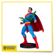 Sculpted by Jonathan Matthews  Originally rendered by legendary artist Neal Adams for the cover of Superman #233, the image of Superman bursting out of Kryptonite chains is one of the most recognizable portraits of the Man of Steel- and now it's a brand new statue in the DC Designer Series.    Limited Edition of 5,000