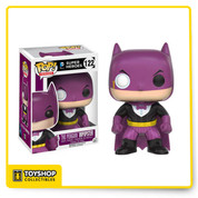 Oh No! Classic Batman Villians are dressing up like Batman and pretending to be the famed Caped Crusader! Harley Quinn, The Penguin, The Riddler, Scarecrow, and Two-Face are nothing but fakes, phonies, and Batman Impopsters! Harley Quinn and Poison Ivy are even pretending to be Batgirl! What is happening in Gotham?! Funko Pop! Heroes Imposter The Penguin Batman Imposter Stands 3 3/4 inches tall Window Display Box