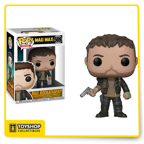 This is the standard version of the Max Rockatansky POP, from the Mad Max Fury Road series in the POP!