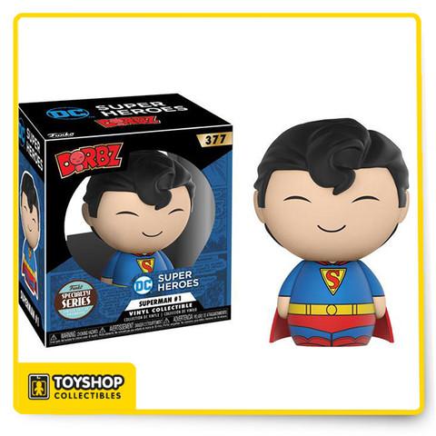 DC Super Heroes Specialty Series Dorbz Superman #1 Vinyl Figure.