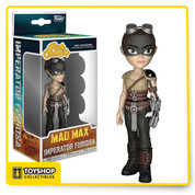 "The post-apocalyptic world of Mad Max: Fury Road has come to Rock Candy with Imperator Furiosa! She comes housed in displayable window box packaging. Includes a 2 1/2"" removable base."