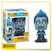 Hades from Disney's Hercules is given a super stylized and ultra collectible makeover as a Pop! vinyl figure from Funko!
