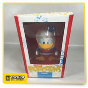 "Donald's looking all bent out of shape and about to go quackers at being included in the Popcorns series. The novel packaging is deliciously cute, but Donald won't be happy until you make him a part of your Vinylmation collection.  Features Exclusive Disney Theme Parks item Vinylmation is the original vinyl collectible figure inspired by the Disney Theme Parks Artist Maria Clapsis Vinyl 4 3/4"" x 3 1/2"" x 2 1/4"" Details Package Dimensions: 7 x 6 x 5 inches Item Weight: 6.6 ounces Shipping Weight: 6.6 ounces Item model number: 32830 Manufacturer recommended age: 5 years and up"
