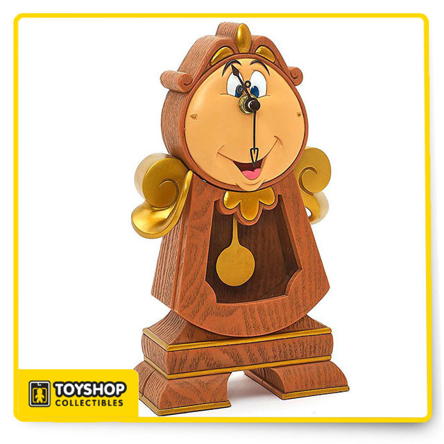 Beauty And The Beast Collectibles >> Disney Parks Beauty And The Beast 10 Cogsworth Clock Figurine