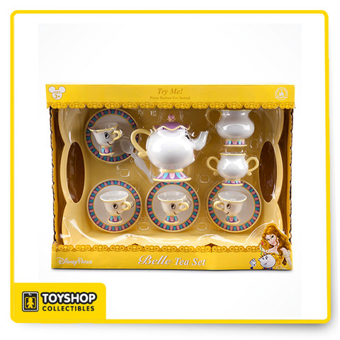 Beauty And The Beast Collectibles >> Disney Parks Beauty And The Beast Tea Set