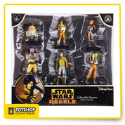 Rebel funThey'll be excited to join the rebellion with this Star Wars Rebels Collectible Figure Set! Endless adventures await them with six of their favorite characters from the animated series, including Ezra, Kanan, Zeb and others!   Features Brand new and sealed. Details Product Dimensions: 11 x 10.2 x 2.4 inches Item Weight: 10.4 ounces Shipping Weight: 10.4 ounces Domestic Shipping: Item can be shipped within U.S. Manufacturer recommended age: 3 years and up