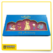 limited edition of 250  The box set depicts each character in the movie who held the lamp.