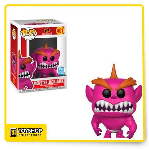Funko Pop! Disney #401 Incredibles 2 Monster Jack Jack Shop Exclusive