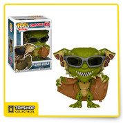 A few of Gremlins 2s most recognizable monsters are now available as Pop! Vinyl collectibles. Greta, the fabulous first female Gremlin, and the Gremlin flasher, complete with trench coat and sunglasses to avoid easy identification, are eager to join your collection.