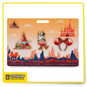 Disney Minnie Mouse The Main Attraction Big Thunder Mountain Railroad Pin Set