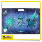 Disney Minnie Mouse The Main Attraction The Haunted Mansion Pin Set