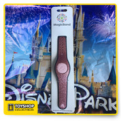 Disney Parks 2021 Sparkly Pink Rose Gold Glitter Magic Band