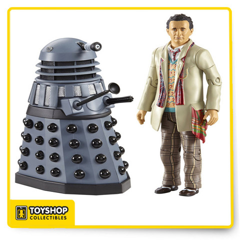 A great gift for fans of any age, these highly detailed, realistic and poseable action figures include some iconic characters from Doctor Who.