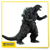 "From one of the most anticipated movie releases this year, the relaunch of the classic Godzilla franchise. This 6"" tall figure is highly detailed and fully articulated and 12"" long from head to tail! Over 25 points of articulation and a bendable tail. This classic movie monster has never looked so good in toy form."