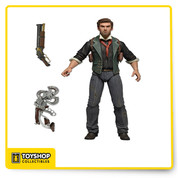 Booker DeWitt, the hero and main character of Bioshock Infinite, joins our line of action figures based on the hit video game! At approximately 6 3/4 inches tall.  The game-accurate detail extends from thesculpt to the included shotgun and Sky-Hook accessories, and he's loaded with over 25 points of articulation for great poses.