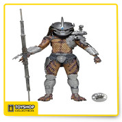 "From Series 12:  Enforcer  Predator Figures stand approximately 8"" tall, feature over 25 points of articulation and come with character-specific accessories."