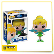 There is only one Tinker Bell and here she is... in vinyl! This 3 3/4-inch Disney Tinker Bell Pop! Vinyl Figure presents one of the most famous fairies in the world, poised to add some pop culture to your house in a unique stylized form you have probably never seen before. Do not Pan this one, Hook her into your collection today!
