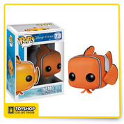 Disney Pixar's hit Finding Nemo gets the Pop! Vinyl treatment! Your favorite fun and funny underwater creatures from the film are stylized in the adorable Pop! Vinyl stylization. The Finding Nemo Nemo Disney Pop! Vinyl Figure has the clownfish measuring approximately 3 3/4-inches tall. Ages 4 and up.