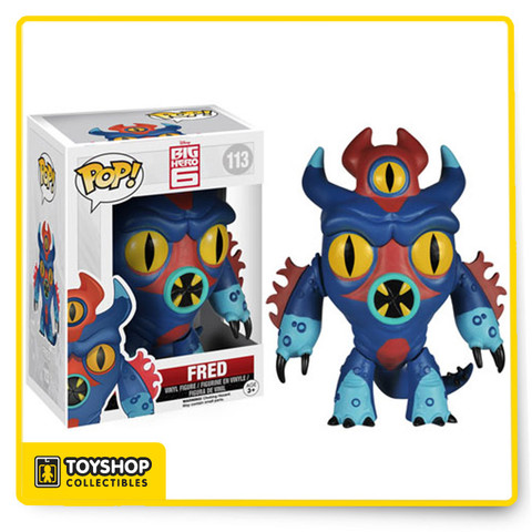 From Walt Disney Animation Studios and the popular Marvel comic series comes Big Hero 6. Fanboy Fred stands approximately 3 3/4-inches tall and comes in a window display box