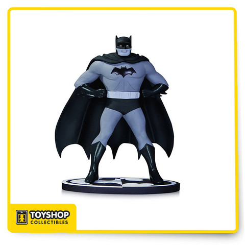 "Legendary Batman artist Dick Sprang enters the world of Batman: Black & White with these terrific statues of the Dark Knight . Limited Edition of 5,200 Batman Measures Approximately 7.75"" Tall."