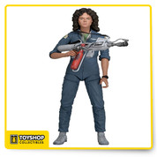 "Series 4: Alien action figure! Ripley in Nostromo Jumpsuit comes with flamethrower and Jonesy the cat. Each fully articulated figure stands approximately 7"" tall and comes in special 35th Anniversary packaging."
