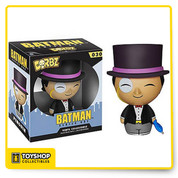 These pint-sized rascals will weasel their way into your heart as surely as they'll find their way onto your shelf! The Batman Penguin Dorbz Vinyl Figure measures approximately 3-inches tall. This loveable little villain comes in a double window-box package to fully display.