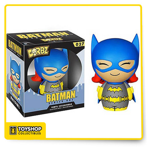 These pint-sized rascals will weasel their way into your heart as surely as they'll find their way onto your shelf! The Batman Batgirl Blue Suit Dorbz Vinyl Figure measures approximately 3-inches tall. This loveable little hero comes in a double window-box package to fully display the character from both front and back! Ages 3 and up.