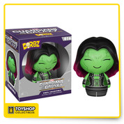 Forget hunting down that orb! Get your hand on the Gamora Dorbz instead! The Guardians of the Galaxy Gamora Dorbz Vinyl Figure measures approximately 3-inches tall and comes packaged in a double-sided window display box! Ages 4 and up.