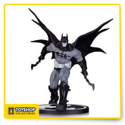From the designs of Carlos D'Anda, the concept artist of the Batman: Arkham Asylum video game! The Black and White Batman by Carlos D'anda Statue is a limited edition of 5,200 pieces. Batman measures approximately 8-inches tall and comes in a closed display box.
