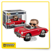 Don't touch Lola, especially when Director Coulson is behind the wheel! The Agents of SHIELD Lola with Agent Coulson Pop! Vinyl Vehicle features the red 1962 Chevrolet Corvette convertible with flight capable (VTOL) wheels and a display base. Director Phil Coulson is cool as the other side of the pillow in his black shades, and black suit. Lola makes a great ride for other 3 3/4-inch Pop! Vinyls as well, but don't let Agent Coulson see it!