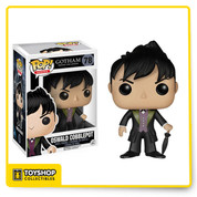 Before Bruce Wayne became the Batman, cleaning up the crime-ridden streets of Gotham was left to Detectives James Gordon and his partner, Harvey Bullock. Find justice amid Gotham's corruption with Pop! Vinyl Figures based on Fox's hit show. The Gotham Oswald Cobblepot Pop! Vinyl Figure captures the slippery Penguin in his stylish suit and measures approximately 3 3/4-inches tall.
