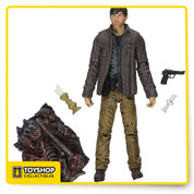 Introduced during the season 4 finale, Gareth is the smooth talking leader of the Terminus encampment. Based on the events of that final episode, in which he captures Rick and his group of survivors, Gareth clearly has an alternate agenda to help his people outlive this zombie apocalypse by any means necesary.
