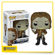 Magic is coming! Mr. Gold certainly keeps the inhabitants of Storybrooke on their toes, and now they've all been trapped in adorable vinyl bodies. Save the day with the Once Upon a Time Rumpelstiltskin Pop! Vinyl Figure, which measures approximately 3 3/4-inches tall. Age and up.